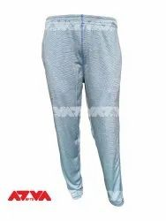Polyester Blue Mix Casual Wear Lower