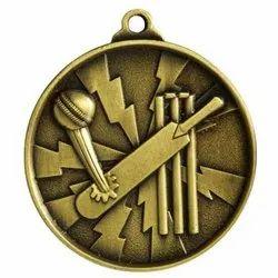 Cricket Sports Medal