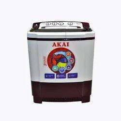 Semi Automatic Washing Machine AKAI 6.5 Kg AKSW6501B RD Top Load, Warranty: 3 Year