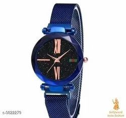 Non brand Women Ladies Watches, Features: Magnet Belt, Model Name/Number: Mgromwm