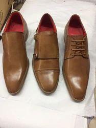 Brown Men Formal Shoes, Size: 6-11