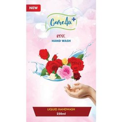 Care4u Rose Hand Wash, Pump Bottle, Packaging Size: 250ml