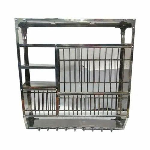 Kitchen Rack - Stainless Steel Kitchen Utensil Rack ...