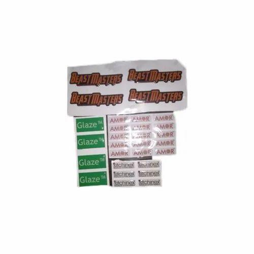 PVC Printed Dome Sticker