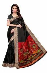 Kalamkari Style Saree