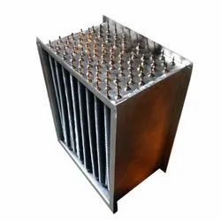 Silver Stainless Steel Air Preheater