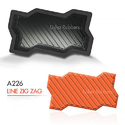 A 226 Line Zigzag Mould