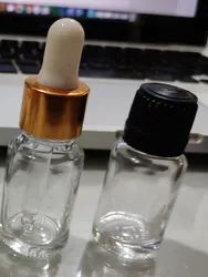 10 ml Clear Essential Oil Dropper Glass Bottle