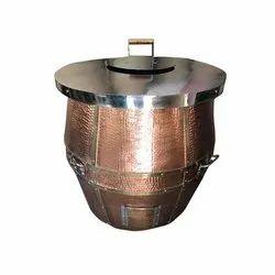 S Steel Top Copeer Tandoor