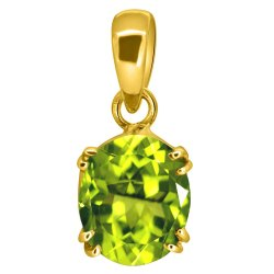 Peridot Pendant Men and Women Asthdhatu Gemstone