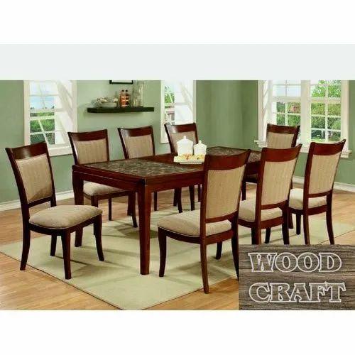 Wood Craft Modular Wooden Dining Table, Wood Craft Furniture