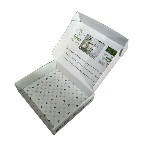 Multicolor Corrugated Paper Printed Duplex Corrugated Box, for Packaging