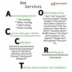 Environmental Testing And Monitoring Services