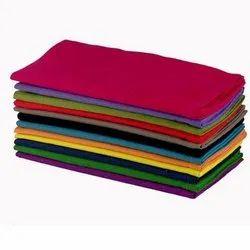 Pure Plain Rubia Cotton Fabric, GSM: 150-200 GSM