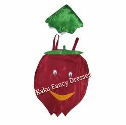 Kids Pomegranate Cutout Costume
