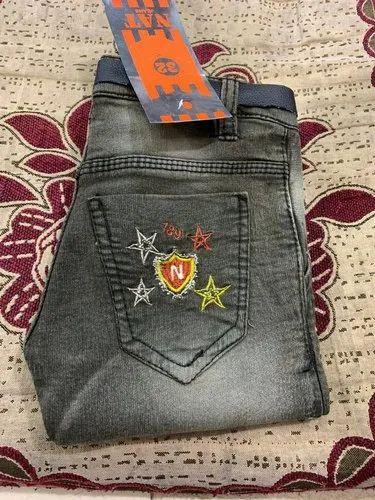 Casual Wear Boys Fashion Denim Jeans