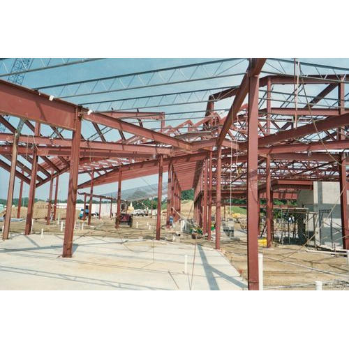 Steel Fabrication Services: Steel Structure Fabrication Service At Rs 119/square Feet