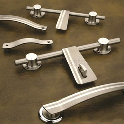 Platinum Cross Cut Door Kit With Handle
