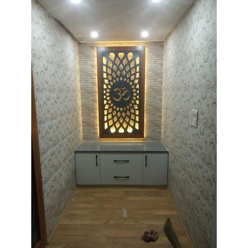 Temple Texas Traditional Home: Traditional Wooden Temple With Drawer, For Home, Rs 950