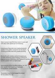 Dc 5v- 100-120ma OEM Bluetooth Shower Speaker