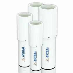 PVC Astral White CPVC Pipe, Size: 16 To 40 mm, Type: MMS