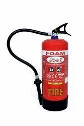 Agni Mild Steel Mechenical Foam Type Fire Extinguishers, Capacity: 9 ltr