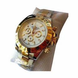 Male Rolex Round Dial Wrist Watch