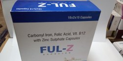 Carbonyl Iron, Folic Acid With Zinc Sulphate Capsules