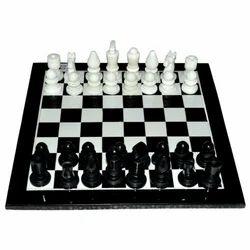 Marble Plain Chess Board