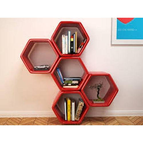Wooden Wall Bookshelf Deewar Par Lagi Almaariyan Floating Shelves
