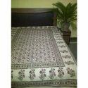 Poly Cotton Printed Sanganeri Bed Sheets