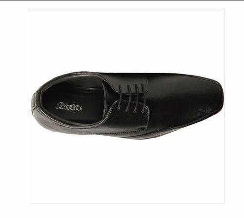 Bata Black Formal Shoes For Men, Size
