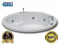Iva Hydromassage Whirlpool Acrylic Jacuzzi Massage Bathtub Air Bubble Bathtub