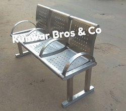 Stainless steel Visitor waiting chair manufacturer and suppliers