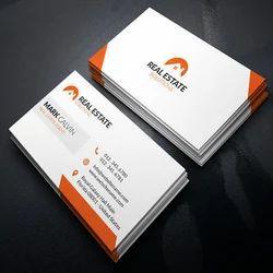 Rectangular Business Card Printing Service