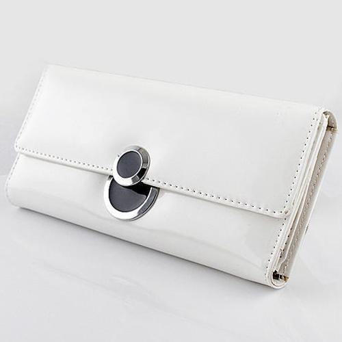 White Las Clutch Bag