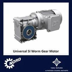 Worm Gear Motor - Universal SI