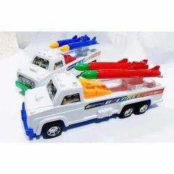 White Rocket Carrier Truck Toys