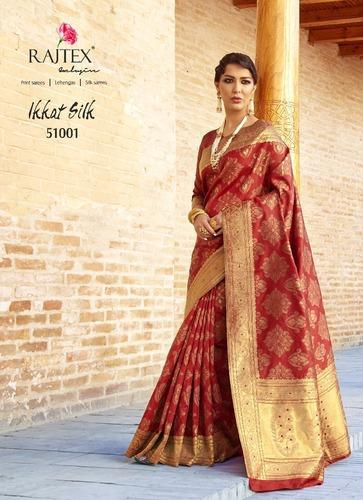 5f9ca83f7 Silk Rajtex Ikkat Saree Wholesale Supplier Rajtex Saree Surat