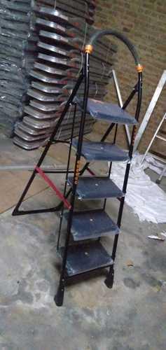 Skl Black Ladder 5 Step Black Iron Ladder Manufacturer