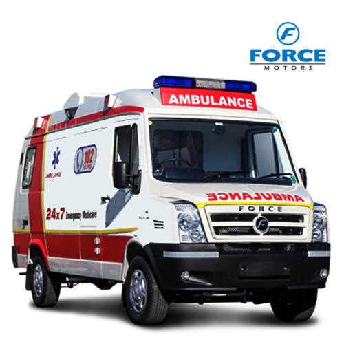 Ambulance Images force traveller trauma ambulance - force motors limited, pune | id