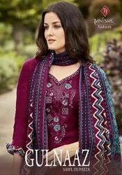 Tanishk Fashion Gulnaaz Sawl Dupatta Pashmina Winter Dress Material Catalog