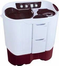 Godrej 7.5 kg Semi Automatic Top Load Washing Machine, WS Edge Pro 750 CS, Red