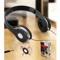 Black Foldable Headphone