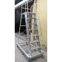 Aluminium Deluxe Wide Step Ladder