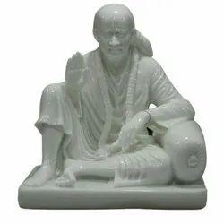 Fancy Marble Sai Baba Statue