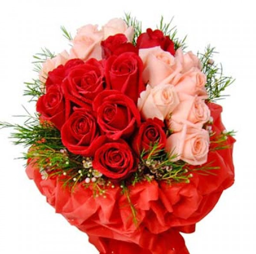 Beautiful Roses Flowers Bouquet