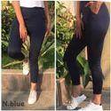 Ladies Navy Blue Legging