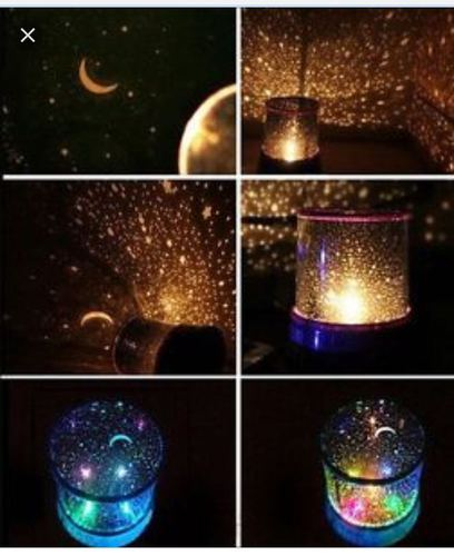Starry Night Sky Projector Colorful Led Light