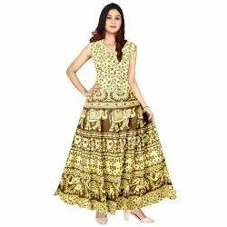 Casual Wear Sleeveless Dress